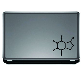 Caffeine Molecule Decal