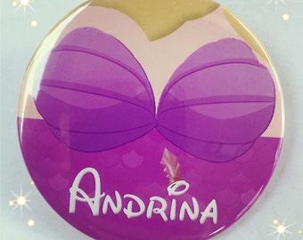 """Andrina 3"""" button"""