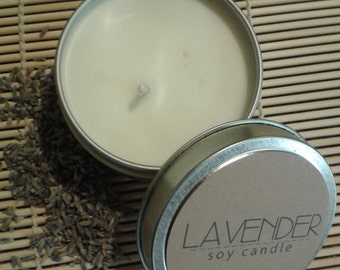 Organic Lavender Clarity Candle