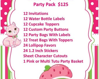 Strawberry Girl Party Package(READ DESCRIPTION before ordering)