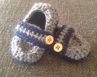 Strap Baby Booties