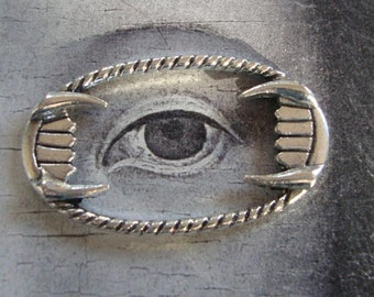 10 Fangs Frame Embellishment....Vampire teeth embellishment