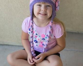 Disneys Tangled Inspired Crochet Beanie Hat/ Rapunzel Hat