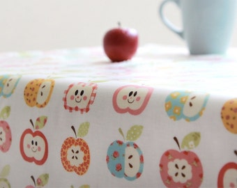 Laminated Cotton Fabric Apple By The Yard