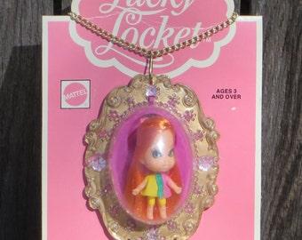 Vintage Mattel Lucky Locket Liddle Kiddle Luana MOC - 1975