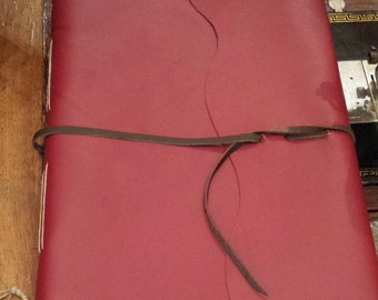 Album bordeaux leather