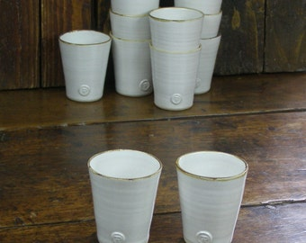 Wine Cups - hand-thrown pottery
