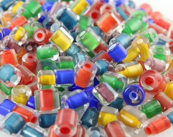 1 oz Bright Solid ~ Furnace Art Glass Beads
