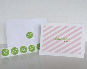 Delta Zeta Note Card Gift Set