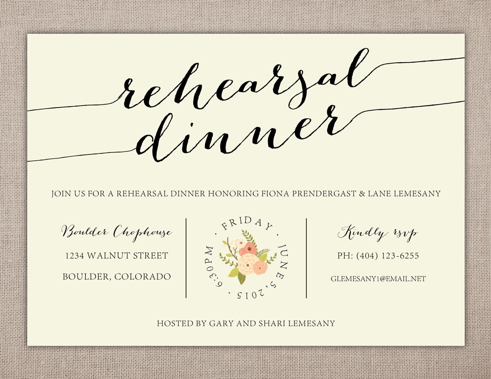 It's just a graphic of Invaluable Printable Rehearsal Dinner Invitations