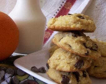 Sensational Orange Choco Cookies - 1dz