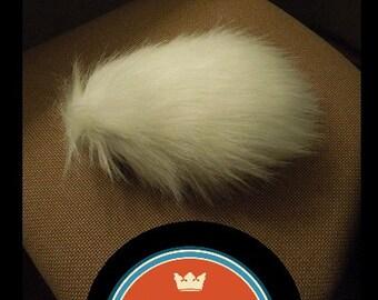 Mini Bear Tail-- Small, Custom color, Rabbit poof, rabbit costume, bunny girl, Panda tail, Pandaren tail, WoW, WoW Cosplay, Warcraft