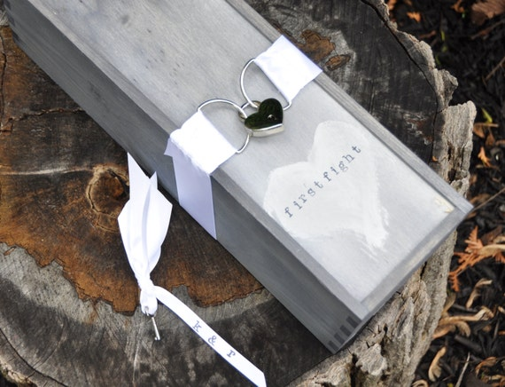 Wedding Wine Box Ceremony With Lock First Fight Box By