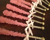 Bling Rock Candy Crystal Sticks, rock candy favors, Rock Candy lollipops