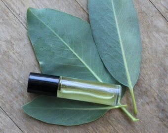 Pure| Anti-Anxiety Essential Oil-Based Perfume in 1/3 oz Roll on - Also great for Mindfulness, Grounding, Calming, Tension