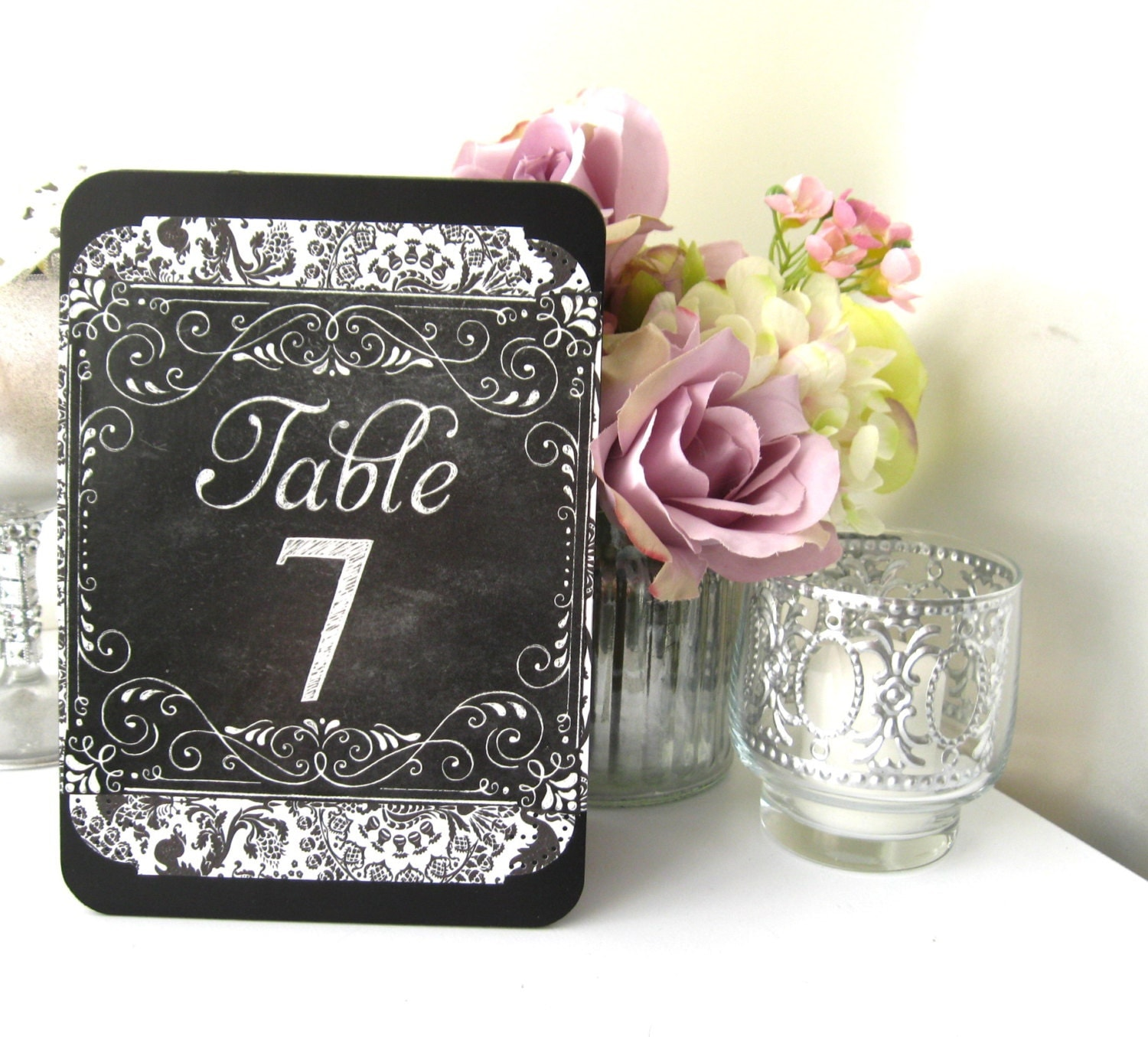 chalkboard table numbers ~ table numbers chalkboard 5 wood easel style doublesided tent