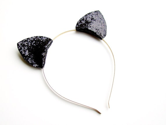 Cat Ear Headbands. Channel cute feline spirit with our selection of cat ear headbands. This fierce and fun trend is the purr-fect finishing touch to your hairstyle. Our cat ears for girls come in all sorts of designs including: floral, bedazzled, light up, and more. If you find that your animal instincts are breaking through, animal ear.