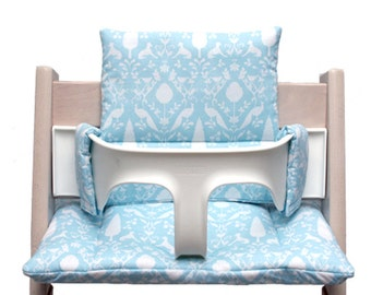 Cushion for Tripp Trapp High Chair - Oxford turquoise