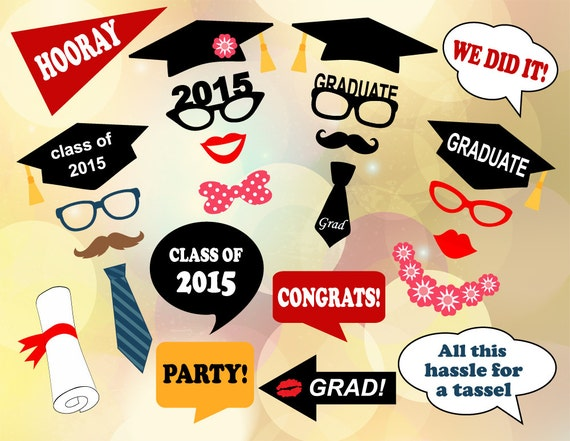 ... Props Graduation Photobooth Printable Graduation Party Props 0167