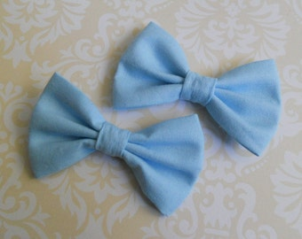 Sweet Lolita blue bow set