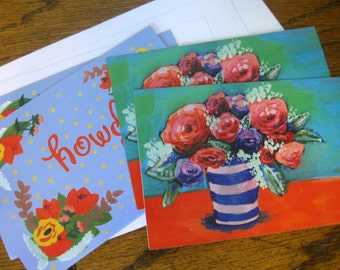 4-pack of blank greeting cards