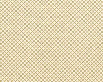Remix - Crisscross in Gold Metallic - Ann Kelle - Robert Kaufman (AAKM-15240-133)