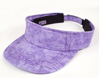 Sun Visor | Ladies Visor | Purple Golf Visor | Purple Sun Visor | Purple Tennis Visor | Purple Visor | Womens Visor | Gift For Her