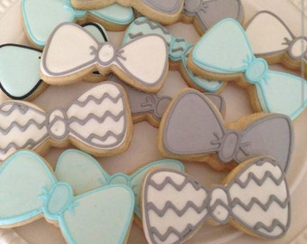 Bow Tie Cookies One Dozen (Individually Bagged)