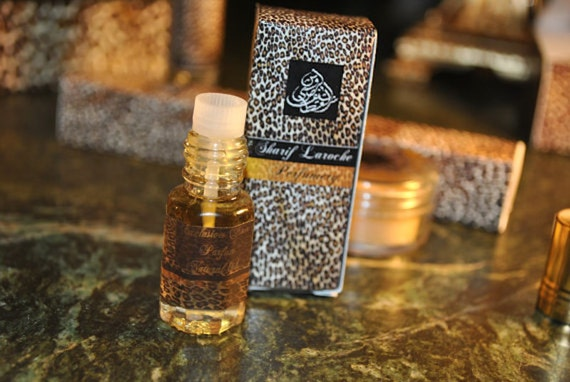 Ambergris Rose 3ml Art Parfum-Mukhallat of Ambergris White Gold musk fragrance designed by sharif laroche
