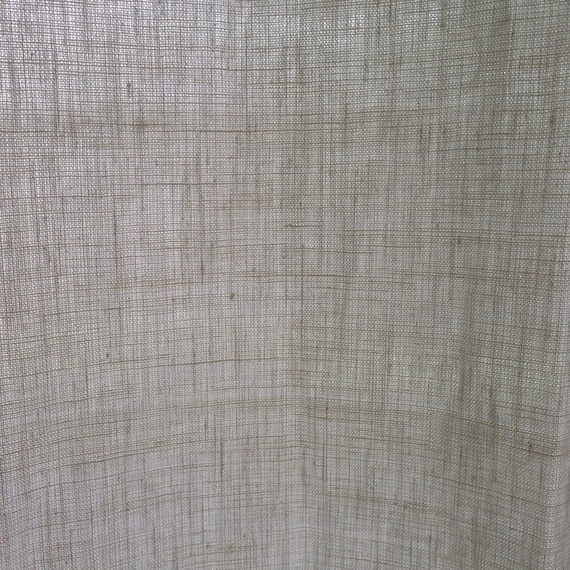 hemp linen shower curtain for tub shower by cedarsandsage
