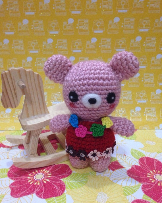 Amigurumi Baby Shower Bears : Amigurumi Baby Bear Crochet Bear Stuffed by PrincessInDreams