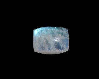 Moonstone Rainbow Cushion Cabochon Loose Gemstone 1A Quality 8x6mm TGW 1.35 cts.