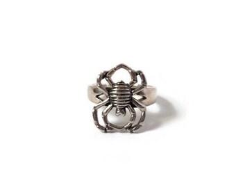 Vintage Sterling Silver Spider Ring