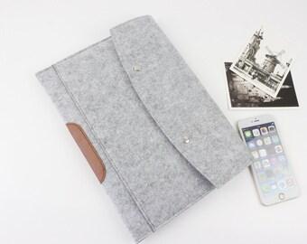 """felt Macbook Air 13.3"""" sleeve, Macbook 13"""" sleeve, Macbook 13.3"""" case, Macbook Air sleeve, Macbook Air 13 case, Laptop sleeve Laptp case 240"""