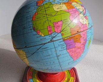 Vintage J. Chein tin globe