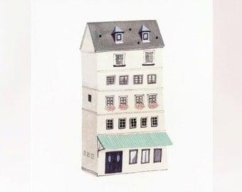 Grey House Art Print
