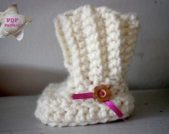 Haakpatroon Baby Boots