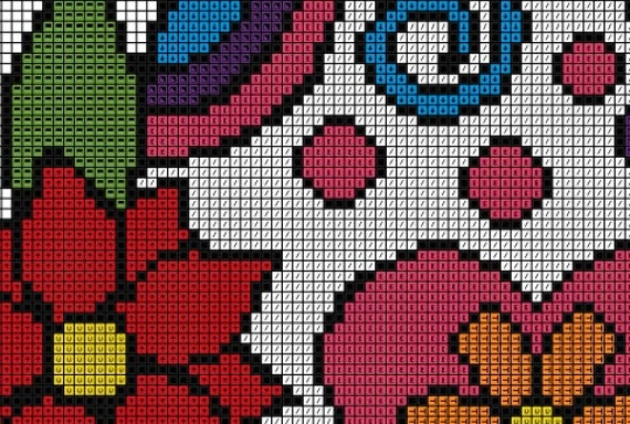 Sugar Skull Cross Stitch Pattern Counted Cross By