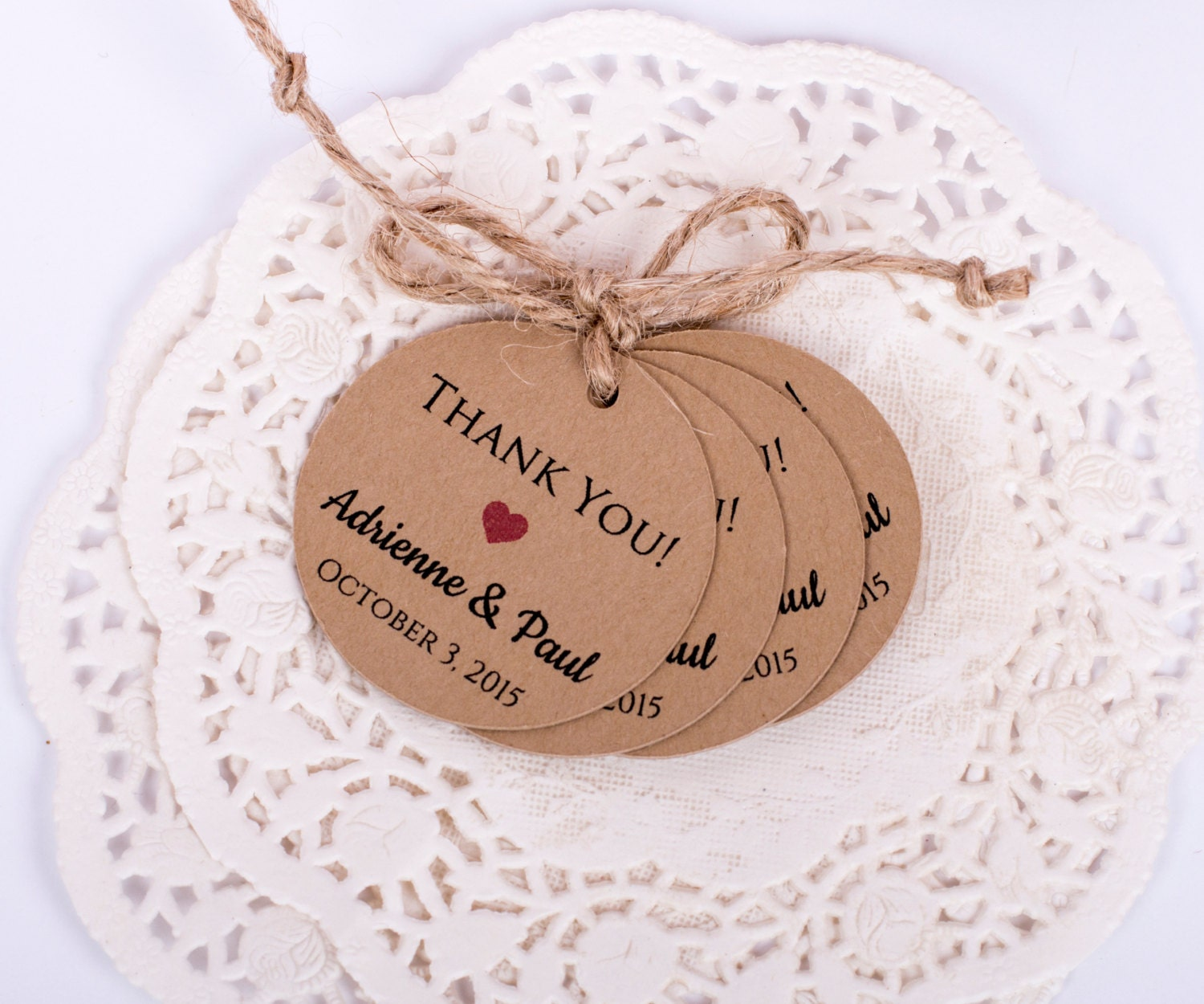 Thank You Wedding Gift Tags : Wedding Favor Thank You Gift Tags Wedding Favor Personalized