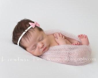 Bundle Offer 5 Knit stretch Mohair Silk wrap Newborn Baby Boy Girl Photo prop