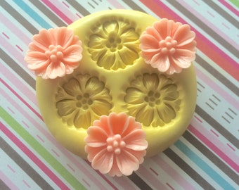 DOGWOOD Flower Silicone MOLD - Spring Flower, Cake Mold, Cupcake Decor, Fondant Mold, Flower Mold, Polymer Clay Mold, Resin Mold Flower