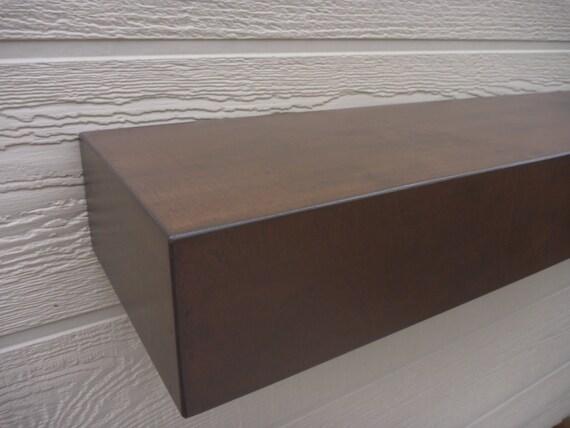 Ledge shelf floating shelves wall shelf picture ledge - Beneficial contemporary fireplace mantel shelves ...