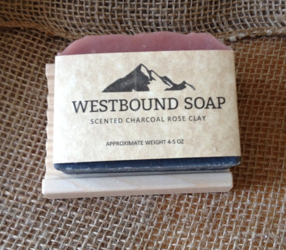 Charcoal Rose Clay Handmade Scented Soap With By Westboundsoap