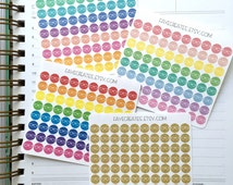 Eyeglasses stickers for Day Designer and other planners