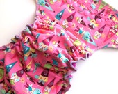 Gnomes OSFM Fitted Cloth Nappy