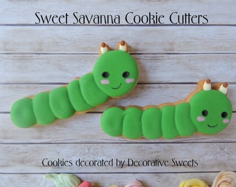 Caterpillar Custom Cookie Cutters
