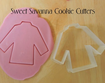 Pyjama Top Cookie Cutter - Suit Jacket Cookie Cutter