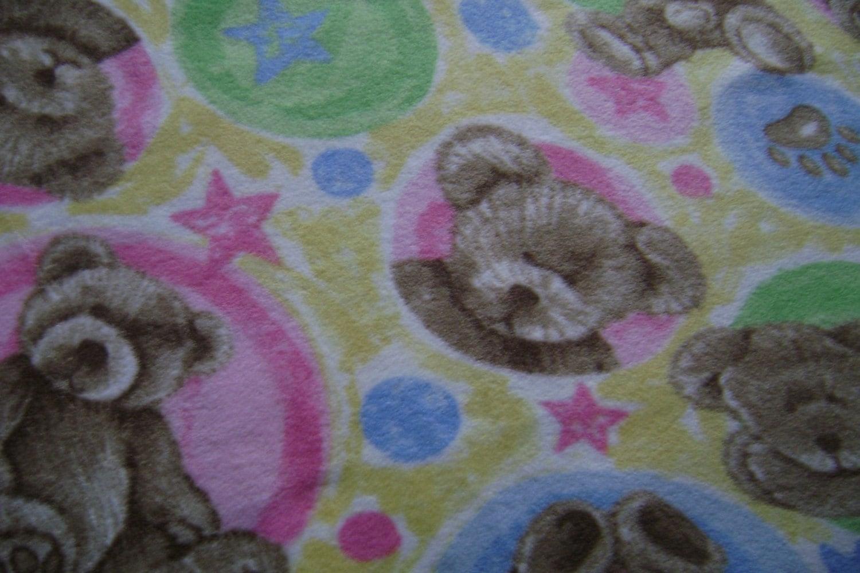 Teddy Bear Fleece Fabric By The Yard