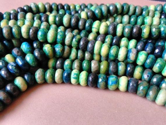 New Mexico Turquoise Rondelles