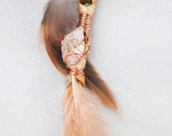 """Golden Goddess 14"""" Hairwrap by One Tribe"""